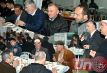 Başkan Çamyar Kahvaltıyı Garaj Camii'nde Yaptı