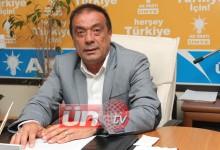 """Ergün; """"Ünyeli, Numan Kurtulmuş'a Sahip Çıkmıştır"""""""