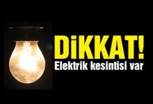 Ünye'de Elektrik Kesintisi