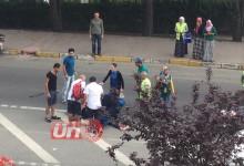 Hastaneye Giderken 2 kişiye Çarptı