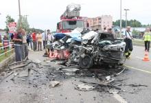 Terme'de Feci Kaza; 2 Ölü, 1 Yaralı