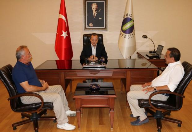 Ergün'den, Rektör Yarılgaç'a Ziyaret