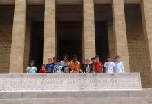 Galatasaray Futbol Okulu Öğrencilerinden Anıtkabir Ziyareti