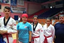 Ünye'den 4 Sporcu, Taekwondo Türkiye Şampiyonası'nda