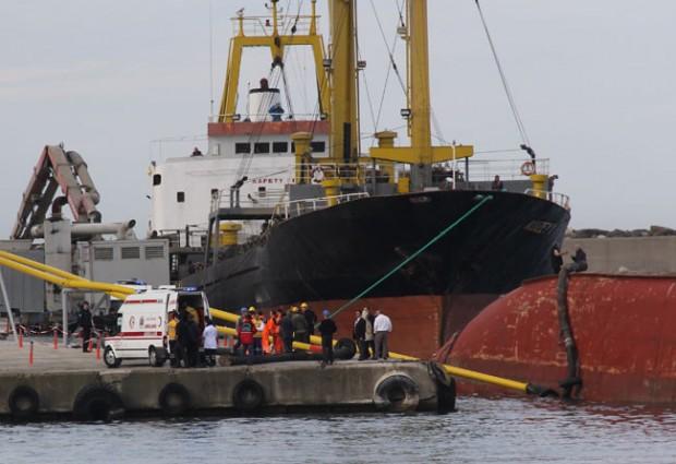 Gemiden Düşen Filipinli Ağır Yaralandı