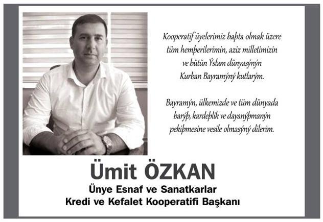 umit_ozkan_kurban_bayrami_kutlama_mesaji