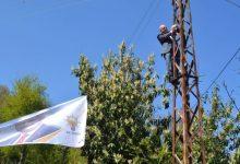Ak Partili Vekil Elektrik Direğine Tırmandı