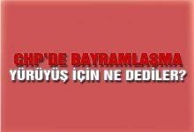 CHP Bayramlaşmasında Adalet Yürüyüşü  Konuşuldu