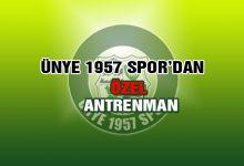 Ünye 1957 Spor'un 'Özel' Antrenmanı