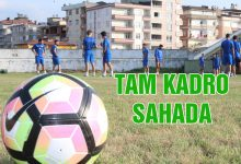 Ünye 1957 Spor Tam Kadro Sahada