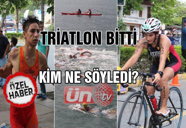 Triatlon Bitti, Kim Ne Söyledi?