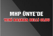MHP Ünye'de Başkan Değişti