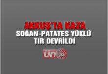 Akkuş'ta Kaza