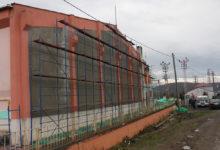 Akkuş Kapalı Spor Salonu'nda Dış Cephe Onarımı