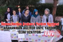 Öğrencilerden Arakan'a Yardım Kermesi