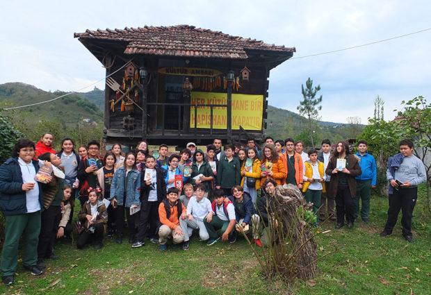 Kültür Ambarı'na Anlamlı Ziyaret