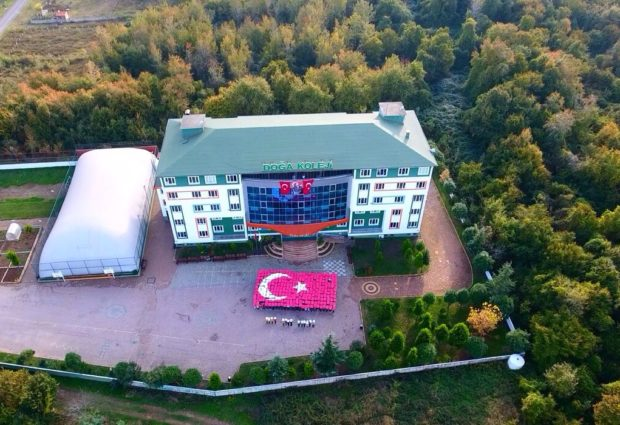 Doğa Öğrencileri Atatürk'ü Andı