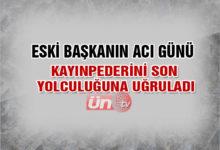 Eski Başkan Türk'ün Acı Günü