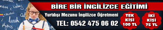 İngilizce reklamı