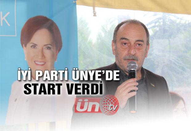 İYİ Parti Ünye'de Start Verdi