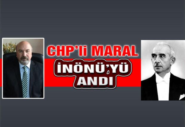 Başkan Maral İnönü'yü Andı