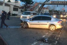 Fakülte Önünde Trafik Kazası