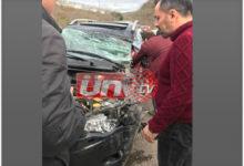Ünyeli İşadamları Kaza Yaptı