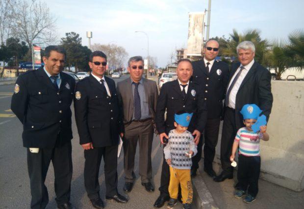 Minikler Polislerin Gününü Kutladı