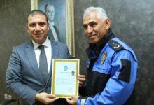Başarı Polislerden, Ödül Kaymakamdan