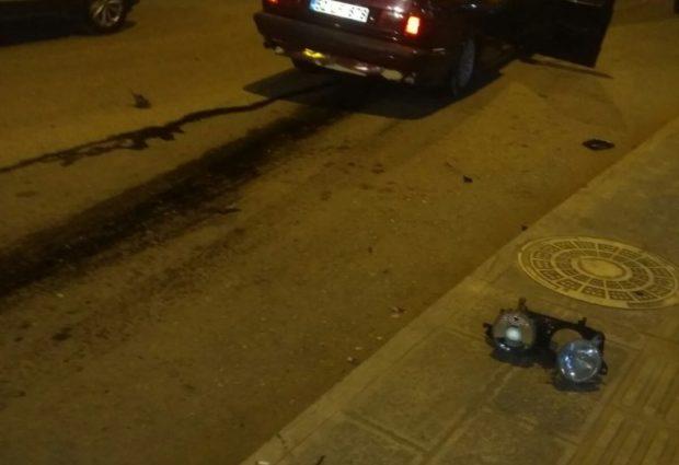 Trafik Kazası Ucuz Atlatıldı!