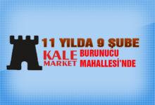 Kale Market 9. Şubesini Açtı