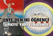 Ünye'den İki Öğrenci Türkiye Yarı Finalinde
